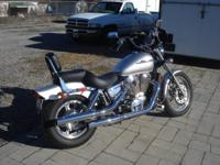 2007 Honda model VT 1100 C Shadow Spirit in metallic