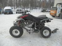 Up for auction is a 2007 Honda TRX 400EX Sport Quad,