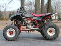 Up for sale is a 2007 Honda TRX 450 ER with a clean and