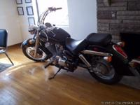 This is my buddies 07 Honda Shadow, its in show room
