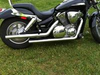 2007 Honda VTX 1300 in very good condition. The bike