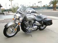 2007 Honda VTX 1300R (Titanium) Senior ridden, 9600