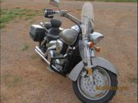 20074 Honda VTX 1300R in Excellent Condition- - Grey