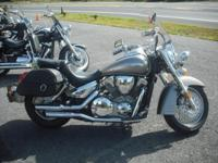 2007 Honda VTX1300S. This one is a one-owner,