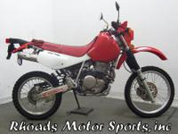 2007 Honda XR650L with 2300 Miles. This Honda only has