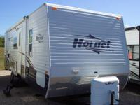2007 Hornet 27DBS. Rear bunks with jackknife sofa,rear