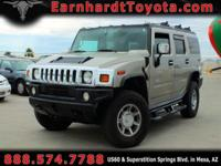 We are delighted to offer you this 2003 Hummer H2 which
