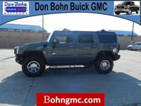 2007 HUMMER H2 4WD 4DR SUV with just 79638 miles.The
