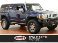 2007 Hummer H3 SUV with only 91,000 miles! Midnight