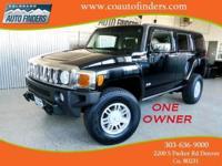 2007 Black Hummer H3 For Sale in Denver/Aurora. This