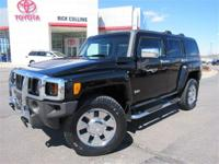 This 2007 Hummer H3 comes equipped with four-wheel