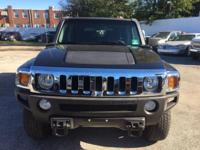 Drive away with this beautiful 2007 Hummer H3. Down