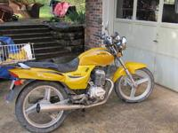2007 Hybird motorcycle {honda clone engine} .Bought in