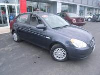 Options Included: N/AONE OWNER!!! 2007 HYUNDAI ACCENT