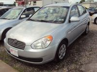 Options Included: N/AEconomical 07 Hyundai Accent GLS!!