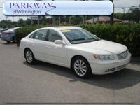 Options Included: N/AThis 2007 Hyundai Azera Limited is