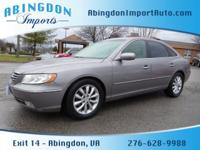 Options:  2007 Hyundai Azera Limited|Limited 4Dr