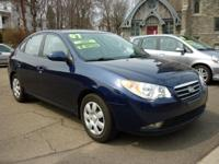 Options Included: N/AA Very Low Milage Elantra GLS with