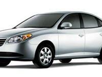 2007 Hyundai Elantra GLS 36/28 Highway/City MPG
