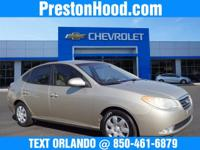 Options:  2007 Hyundai Elantra Gls|Miles: 51126Color: