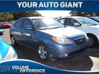Come see this 2007 Hyundai Elantra SE. Its Automatic