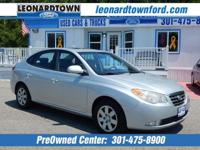 Clean Automatic - Air Conditioned Elantra SE - Just
