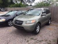 Options:  2007 Hyundai Santa Fe Gls 4Dr Suv|Green|Nice