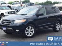 Sturdy and dependable, this 2007 Hyundai Santa Fe