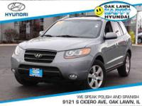 New Arrival! This 2007 Hyundai Santa Fe SE Includes