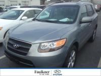 One Owner, AWD 7 Passenger Santa Fe w/Moonroof & In