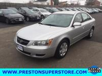 Options:  2007 Hyundai Sonata Gls|Silver|*Very Clean