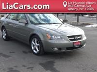 2007 Hyundai Sonata Limited. ABS brakes, Alloy wheels,