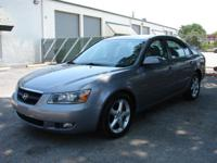 2007 Hyundai Sonata SE V6. Low gas mileage - 78,143