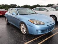 Lbl 2007 Hyundai Tiburon GT FWD 4-Speed Automatic with