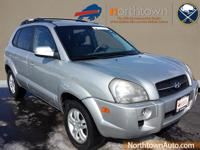Take command of the road in the 2007 Hyundai Tucson! It