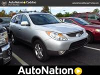 The CARFAX report shows this Hyundai Veracruz is a well