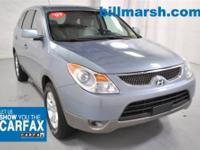 Veracruz GLS, AWD, Air Conditioning, Alloy Wheels, AWD,