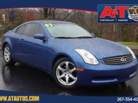 2007 INFINITI G35 RWD 5-Speed Automatic with Overdrive