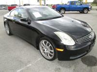 Check out this sporty 2007 Infiniti G35 Coupe. This is