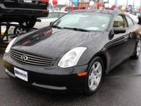 This 2007 Infiniti G35 Coupe 2dr - features a 3.5L V6