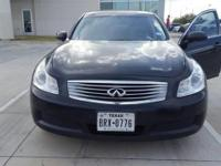 We are excited to offer this 2007 INFINITI G35 Sedan.
