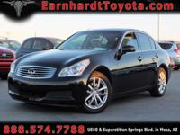 We are happy to offer you this 1-OWNER 2007 INFINITI