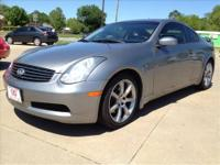 2007 Infiniti G35 Coupe! Great gas mileage and