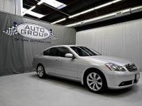 2007 INFINITI M35 LIQUID PLATINUM METALLIC/ WHEAT The