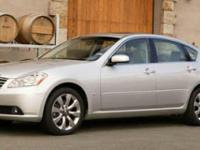 Options:  2007 Infiniti M35|White/|V6 3.5L