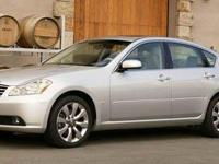 This 2007 INFINITI M35 4dr Sedan x AWD features a 3.5L