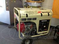 2007 Ingersoll Rand IR GENSET USED Generator We provide