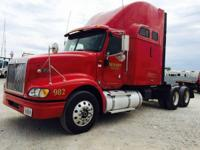 2007 International 9400I. This is a Red 2007 worldwide
