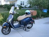 This is an actual, Italian made Vespa 250cc i.e. This