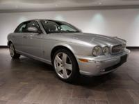 This 2007 Jaguar XJR is featured in Liquid Silver over